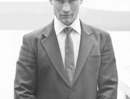 A young Patrick Stewart